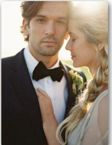 ارایش داماد برای عروسی